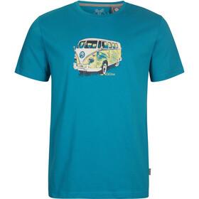 Elkline Gassenhauer Shortsleeve Shirt Men blue